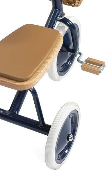 Driewieler - Banwood Trike - Navy blue - littlefashionaddict.com