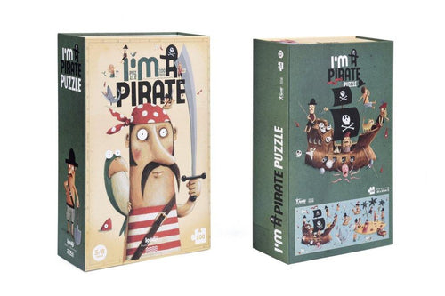 Little Fashion Addict - Londji - Puzzel - I'm a pirate - 100 stukken