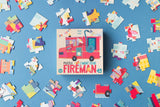 Little Fashion Addict - Londji - Puzzel - I want to be ... Fireman - Littlefashionaddict.com