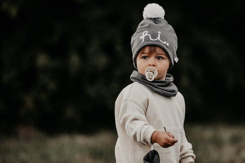 Little Fashion Addict - AAI AAI - Winter Beanie Grey
