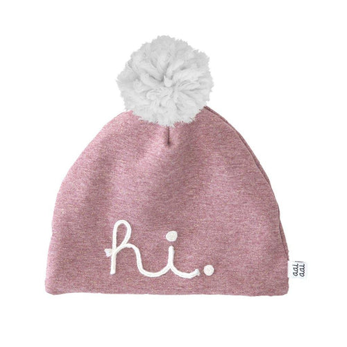 Little Fashion Addict - AAI AAI - Winter Beanie Rose