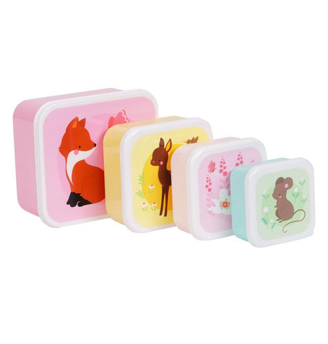 Little Fashion Addict - A Little Lovely Company - Lunchbox bosvrienden