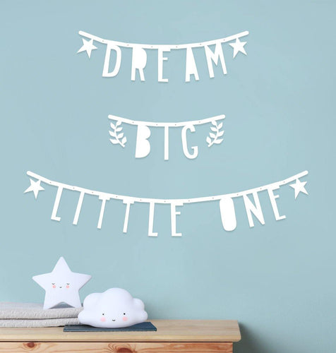 Little Fashion Addict - A Little Lovely Company - Letter banner - sfeerfoto