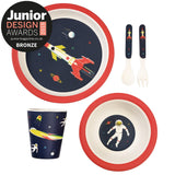 Bamboo tafelset (set of 5) space age - littlefashionaddict.com