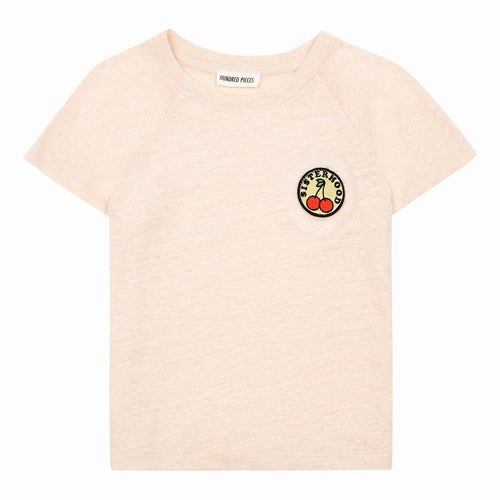Little Fashion Addict - Hundred Pieces Linnen T-shirt met kersen