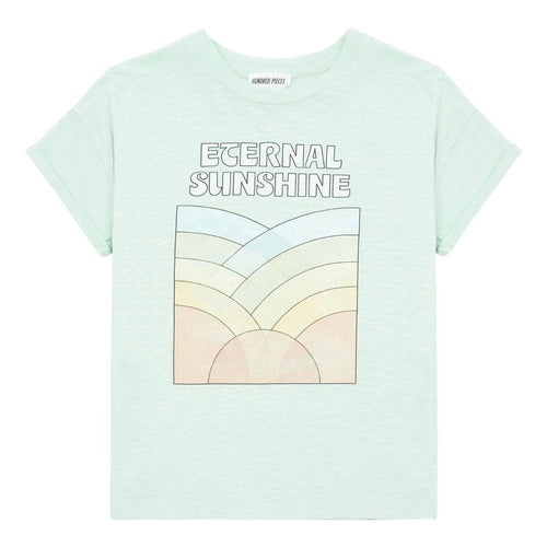 Little Fashion Addict - Hundred Pieces - T-shirt Soul Family - Mint Green