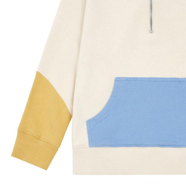 Little Fashion Addict - Hundred Pieces - Colour Block Hoodie met rits