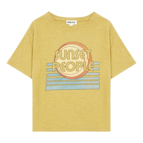 Little Fashion Addict - Hundred Pieces - T-shirt Sunset People