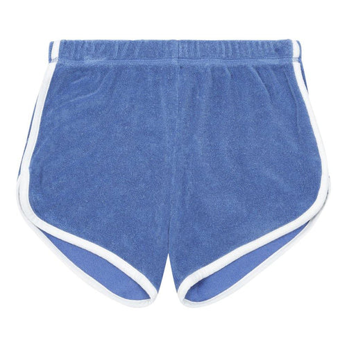 Little Fashion Addict - Hundred Pieces - Organic Terry Short - Blue