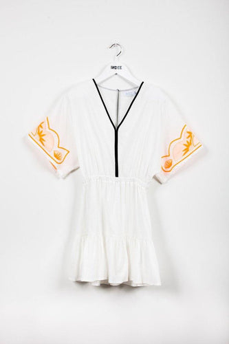 Little Fashion Addict - INDEE - Jacaranda Dress Off White