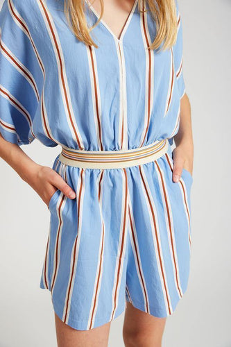 Little Fashion Addict - INDEE - Jaffa Jumpsuit Skyblue - Belgisch modemerk voor tieners