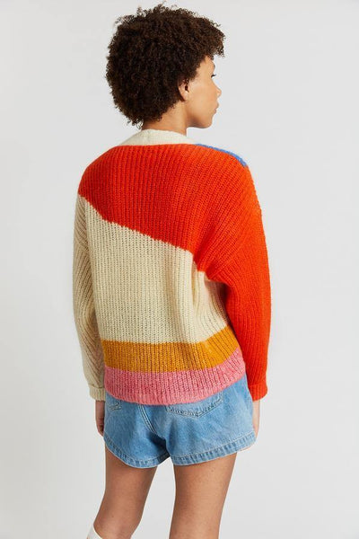 Little Fashion Addict - INDEE - Jannis Colorful knit cardigan
