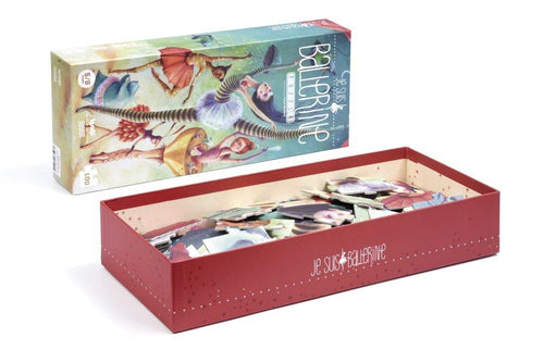 Little Fashion Addict - Londji - Puzzel - Je suis Ballerine - 100 stukken