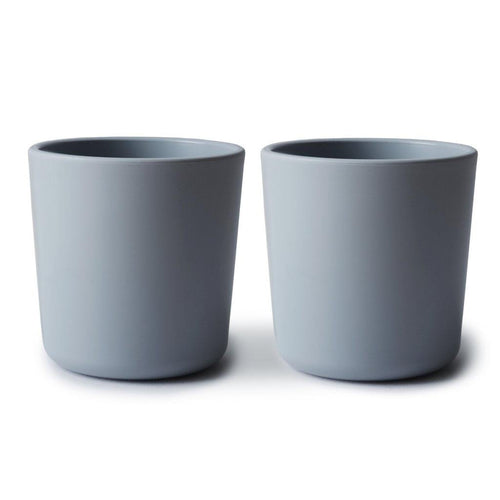 Little Fashion Addict - Mushie - Bekers / Cup - Set van 2 - Cloud