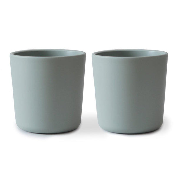Little Fashion Addict - Mushie - Bekers / Cup - Set van 2 - Sage