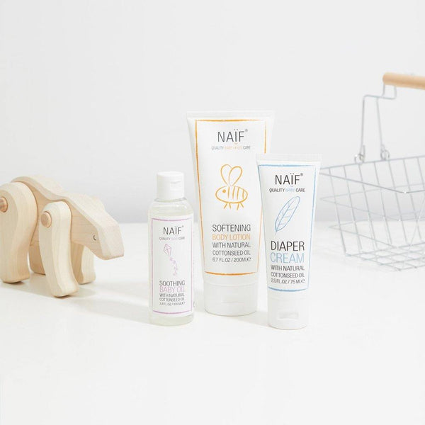 Naïf - Soothing Baby Oil - verzachtende baby olie - littlefashionaddict.com