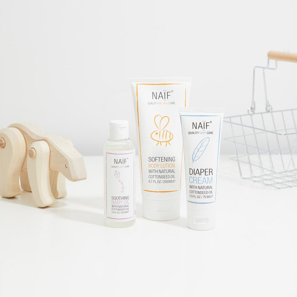 Naïf verzorgingsproducten - Softening Body Lotion Baby & kids - littlefashionaddict.com
