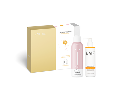 Little Fashion Addict - Naïf - Geschenkbox Shower Power Set
