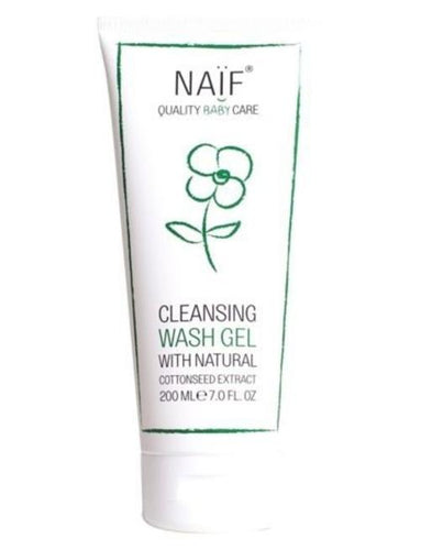 Naïf - Cleansing Wash Gel Baby & kids - littlefashionaddict.com