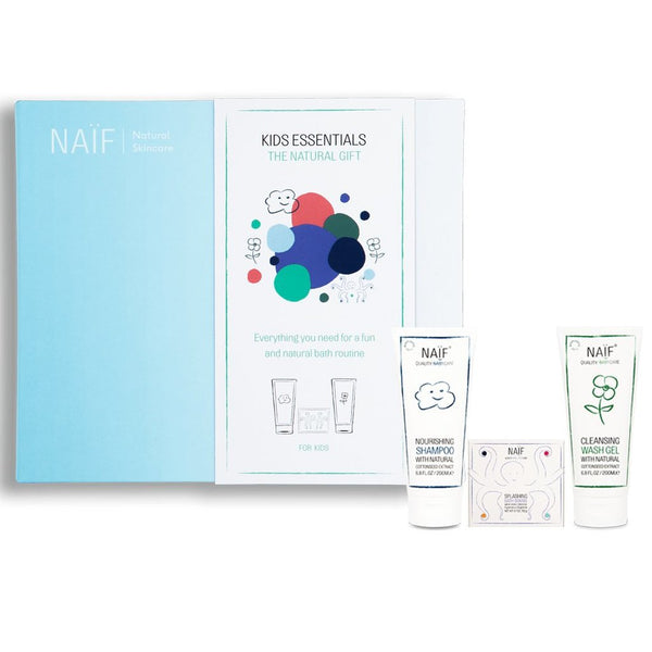 Naïf - kids essentials - shampoo, splasing bath bombs, cleansing washgel - www.littlefashionaddict.com