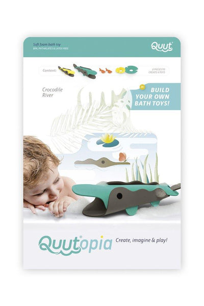 Little Fashion Addict - Quutopia - 3D-Badpuzzel Crocodile River
