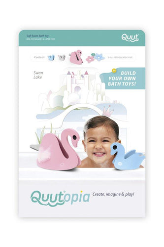 Little Fashion Addict - Quutopia - 3D-Badpuzzel Swan Lake