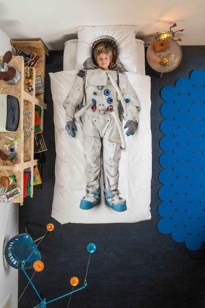 Little Fashion Addict - Snurk Beddengoed - FW 20 - Astronaut - sfeer