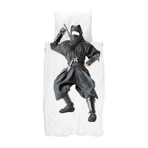 Little Fashion Addict - Snurk beddengoed - Ninja - Dekbedset voor 1 persoon