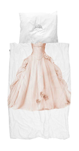 Little Fashion Addict - Snurk Beddengoed - Princess Pink - Dekbedset voor 1 persoon