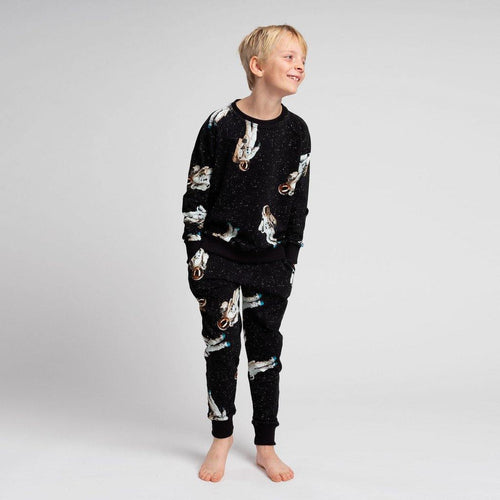Little Fashion Addict - Snurk - Astronauts in space - sweater