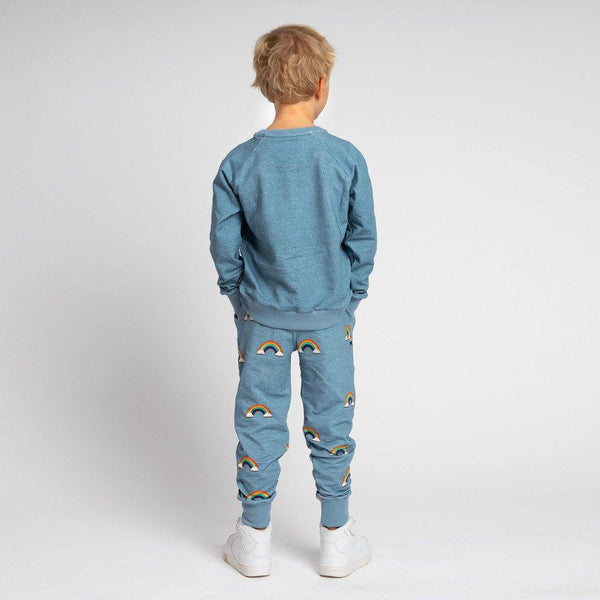 Little Fashion Addict - Snurk - Clay Rainbow - Kids Pyjama - achterkant