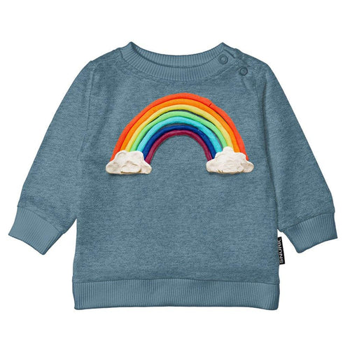 Little Fashion Addict - Snurk - Clay Rainbow - Kids sweater