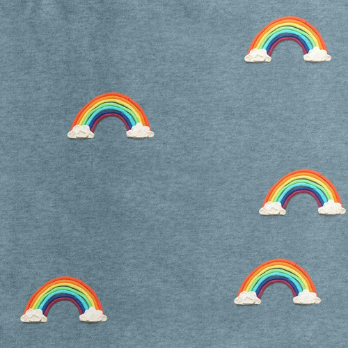 Little Fashion Addict - Snurk - Clay Rainbow - Baby pyjama - detail