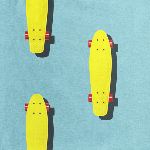 Little Fashion Addict - Snurk Slaapkleding - Skater detail van de print