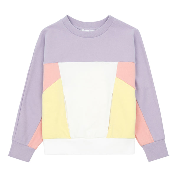Little Fashion Addict - Hundred Pieces - Colour Block Jumper in Candy Pink