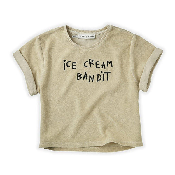 Little Fashion Addict - Sproet & Sprout - Terry T-shirt Icecream Bandit