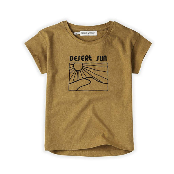 Little Fashion Addict - Sproet & Sprout - T-shirt Desert Sun