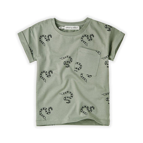 Little Fashion Addict - Sproet & Sprout - T-Shirt Print Snake