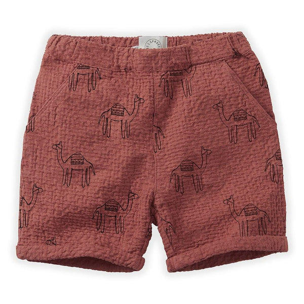 Little Fashion Addict - Sproet & Sprout - Short Camel Print