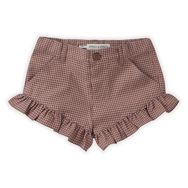 Little Fashion Addict - Sproet & Sprout - Short Ruffle Mini Check