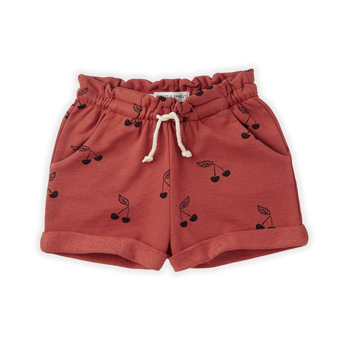 Little Fashion Addict - Sproet & Sprout - Short Print Cherry