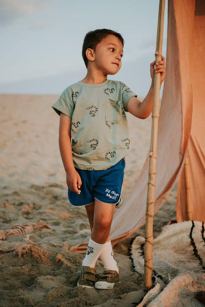 Little Fashion Addict - Sproet & Sprout - Sport Short Icecream Bandits - Sfeerfoto