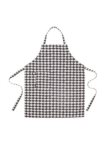 littlephant apron black waves