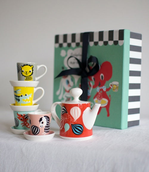 Porseleinen SPEELGOED SERVIES 'Play Tea Set' - Friends - littlefashionaddict.com