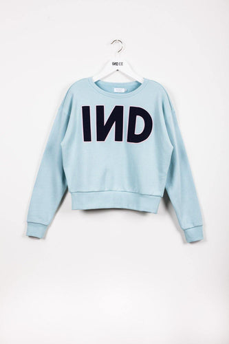 "Little Fashion Addict - INDEE - Jamaica ""IND"" Embroded  Sweater"