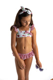 Little Fashion Addict - Meia Pata - Bikini met kersenprint