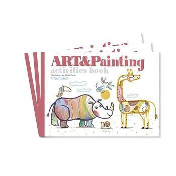 Activiteitenboek - Art & Painting - littlefashionaddict.com