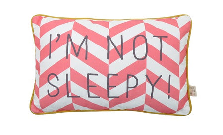 MESSAGE PILLOW - kussen ALLEZ HOP HOP AU LIT