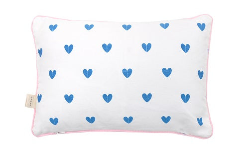 MESSAGE PILLOW - kussen ALLEZ HOP HOP AU LIT - littlefashionaddict.com