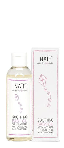 Naïf Soothing Baby Oil - verzachtende baby olie - littlefashionaddict.com
